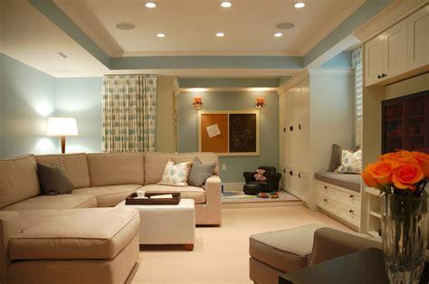 Brown Livingroom by Living Room In Beige Color