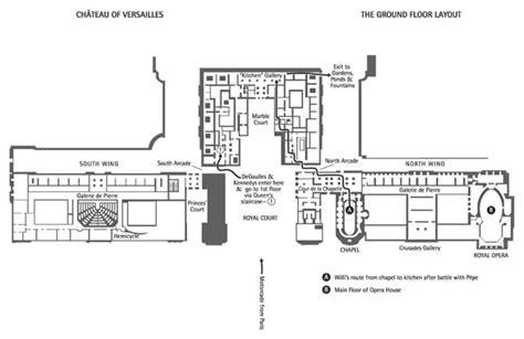 floor plan versailles chateau of versailles ground floor floor plans