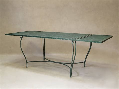 Wrought Iron Outdoor Dining Table Wrought Iron Garden Dining Table 1950s For Sale At 1stdibs