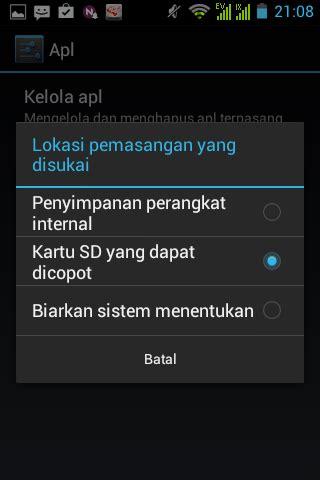 Memori Eksternal Hp Android mengatur penyimpanan aplikasi ke memori eksternal