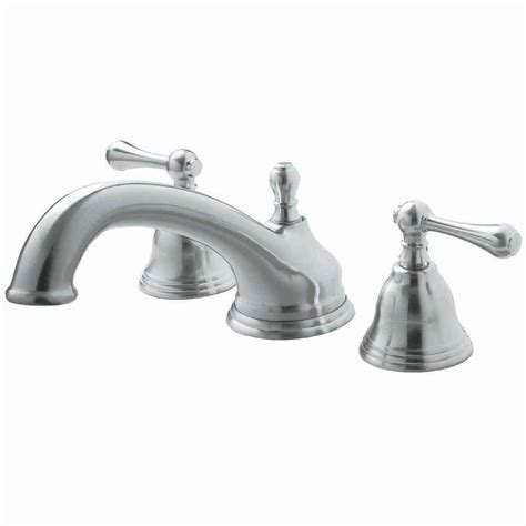 pegasus faucets pegasus 3 handle claw foot tub faucet with elephant spout and shower in brushed nickel 4602
