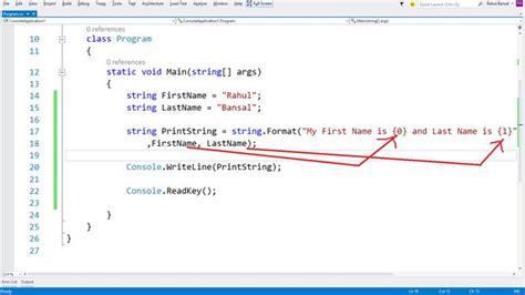 format html string c easy string interpolation in c 6 0