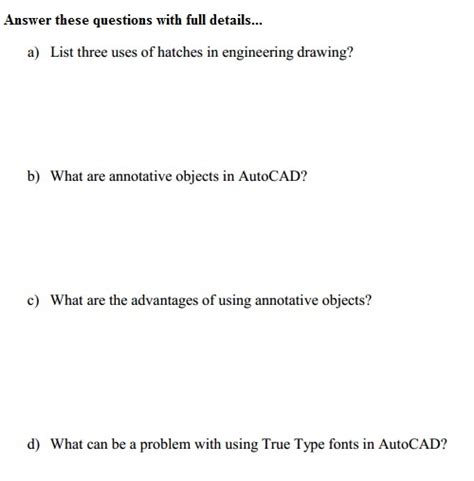 autocad tutorial questions and answers autocad question paper autocad mechanical assembly