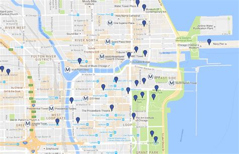 100s chicago map 100 magnificent mile chicago map hotels near magnificent
