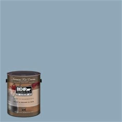 behr gray and blue on
