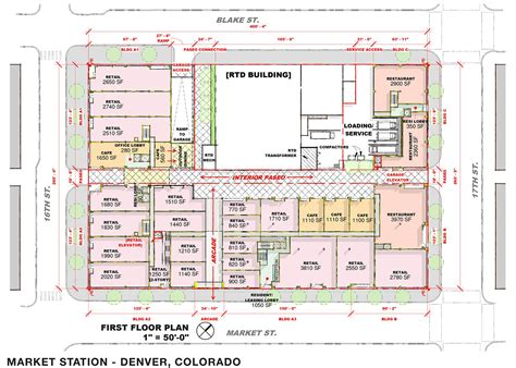 market mall floor plan new project market station denverinfill blog