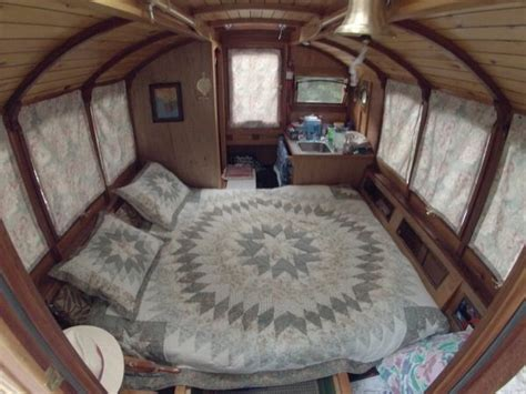 man designs micro houseboat   build  cheap