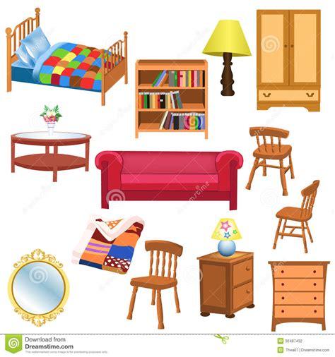 Things You Find In A Living Room In Sistema De Los Muebles Fotograf 237 A De Archivo Imagen