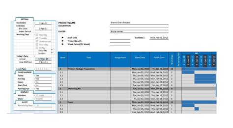 37 Free Gantt Chart Templates Excel Powerpoint Word Free Template Downloads Chart Excel Template