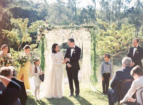 Wedding Ceremony Hire Gold Coast by Wedding Christine Andrew Riverwood Estate Gold