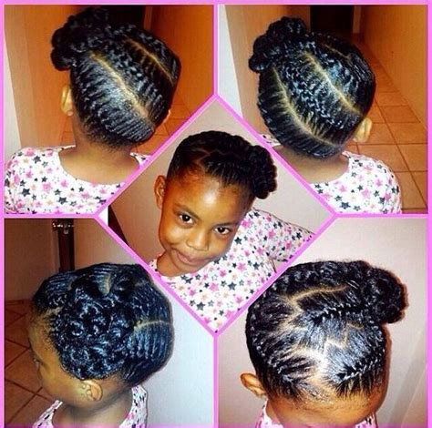braided hairstyles for babies cute braid hairstyle natural hair styles pinterest
