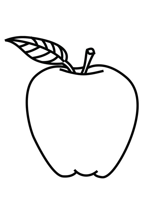 Coloring Page Of A by Best Of Fruit Coloring Pages For Preschooler Collection
