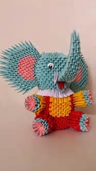 3d Origami Elephant - 25 best ideas about origami elephant on paper