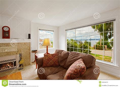comfort living bright comfort living room interior stock photo image