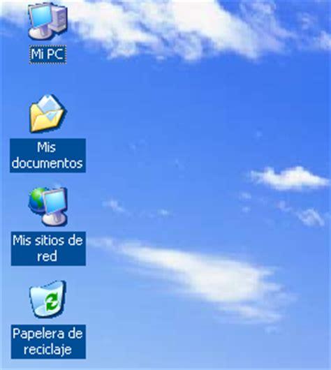 agrandar iconos escritorio el rinc 243 n de johny windows xp anda lento y los 237 conos