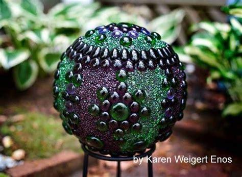 Garden Decorating Bowling Balls by Diy Decorative Garden Tutorial Printable Empress