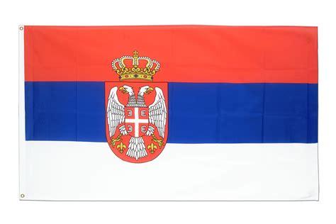 drapeau serbie drapeau pas cher serbie avec blason 60 x 90 cm m des