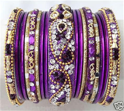 Purple Indian Bangles   eBay