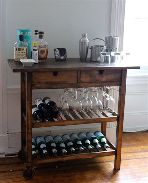 ikea hack bar ikea bar cart hack ikea hackers ikea hackers