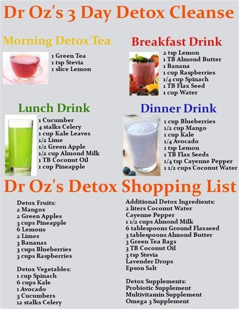 Detox Drinks You Can Buy by Best 25 Dr Oz Weight Loss Ideas On Dr Oz