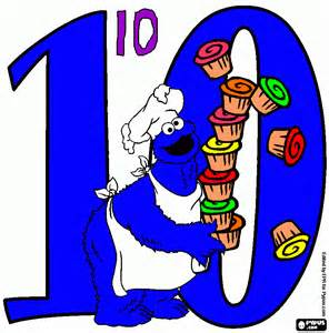 number 10 coloring page printable number 10
