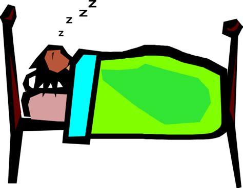 person sleeping clip at clker vector clip