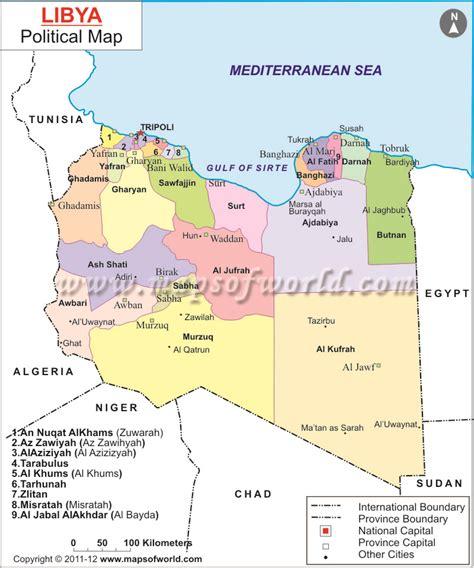 map of libya libya images