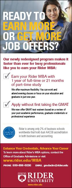 Rider Executive Mba Program by Technologically Gifted Rider
