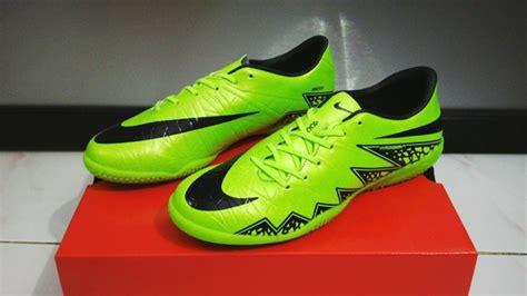 Sepatu Futsal Grade Ori sepatu futsal nike hypervenom ii green volt ic hijau