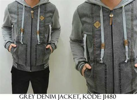 Jaket Kick Denim Mau Order 312a76fd On Quot Grey Denim Jaket Http