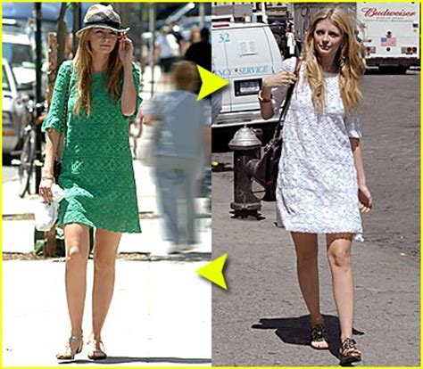Mischa Bartons Eyelet Dress At Keds For Lord by 2007 Just Jared Page 514