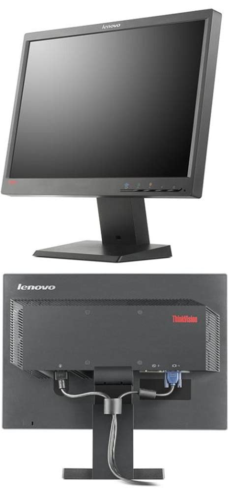 Monitor Lcd Builtup Lenovo 19 Wide Screen lenovo l2250p 22 in wide monitor overview lenovo support