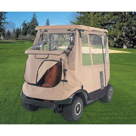 3 Sided Golf Cart Enclosures classic 174 fairway deluxe 3 sided golf cart enclosure