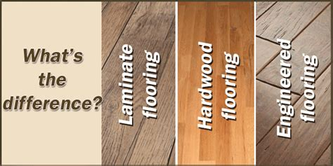 difference between laminate and hardwood laminate flooring vs engineered wood flooring bclaminate