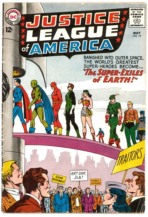 justice league of america justice league of america 19 vg da card world