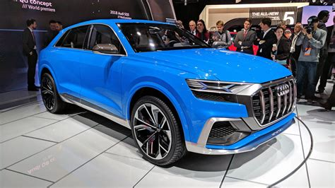 auto show audi q8 suv concept at the 2017 detroit auto show