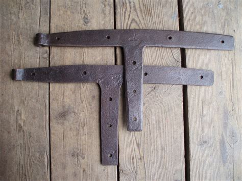 Barn Door Hinges Hardware Antique Iron Barn Door Hinges Forged Hardware