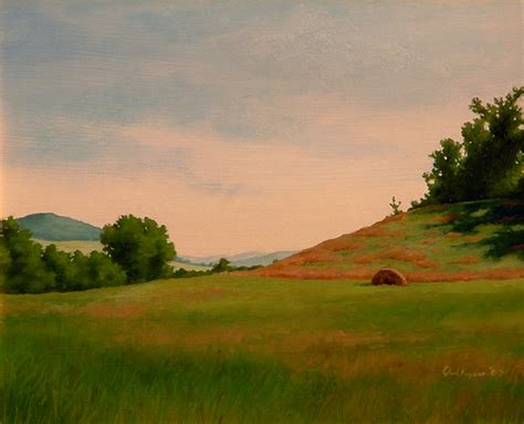 Landscape Paintings New York Paul Keysar New York Countryside Landscape Painting