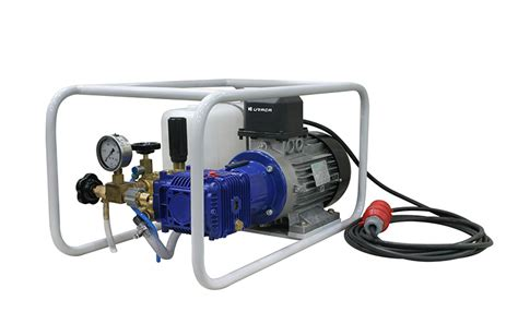 test su elektrik motorlu su test pompalar箟 hydrostatic test pumps