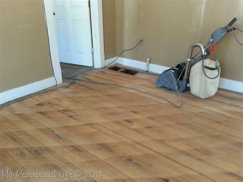 Hardwood Floor Sanding Tips For Sanding Vintage Hardwood Floors My Repurposed 174