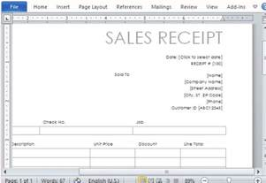 how to make a receipt template doc 600600 a free receipt template for