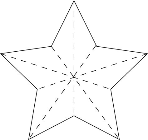 Printable Star For Wand | 6 best images of magic wand printable template fairy