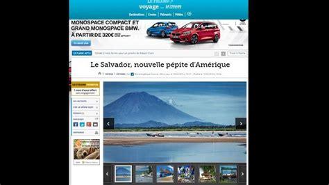 seccin de noticias de el salvador peri 243 dico franc 233 s le figaro sugiere lugares de visita en
