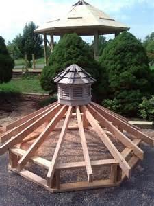 Octagonal Cupola Plans 17 Best Ideas About Gazebo Roof On Diy Gazebo