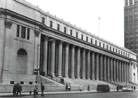 New York Post Office by Buildings Gallery