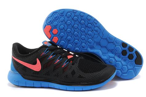 cheap nikes running shoes cheap nike free 5 0 2014 black orange blue running