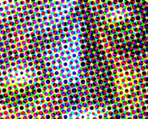 dot pattern printing the informed illustrator digital raster image resolution