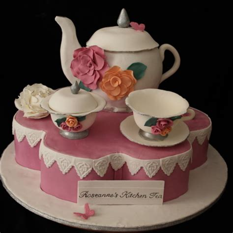 kitchen tea cake ideas top s day tea cakes cakecentral