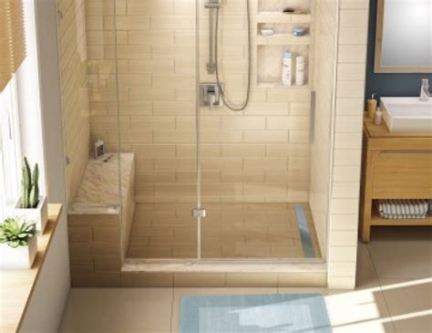 Shower Base Kits by Base N Bench Redi Trench Shower Pan Bench Kits