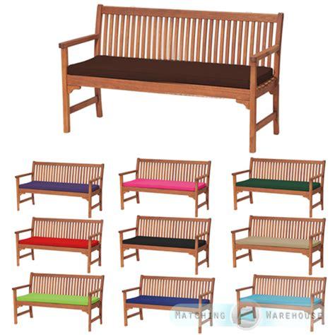 Outdoor Waterproof 3 Seater Bench / Swing Seat Cushion